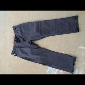 IZOD Slate/Grey 38/29 Straight Fit khakis